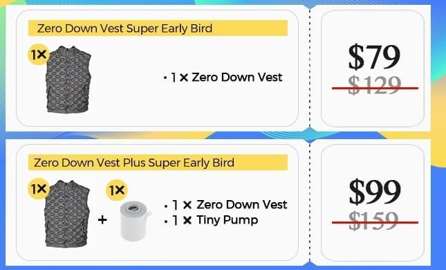 Zero Down Vest